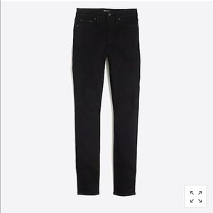 JCrew Factory Black Toothpick Jean